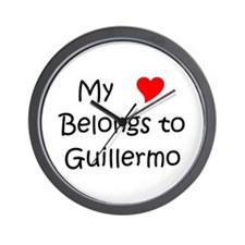 Cool Guillermo Wall Clock