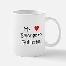 Cool Guillermo name Mug