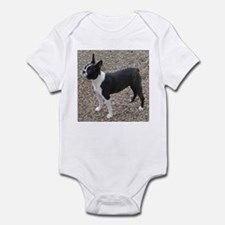 Boston Terrier Pup2 Infant Creeper