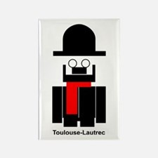 Cute Toulouse Rectangle Magnet (100 pack)