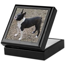 Boston Terrier Pup2 Keepsake Box