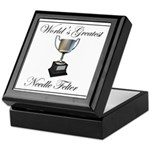 World's Greatest Needle Felte Keepsake Box