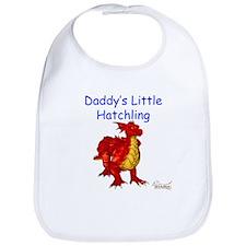 Daddy's Little Hatchling Bib