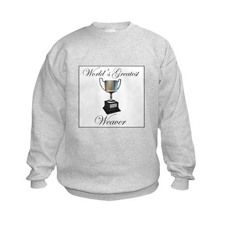 World's Greatest Weaver Kids Sweatshirt