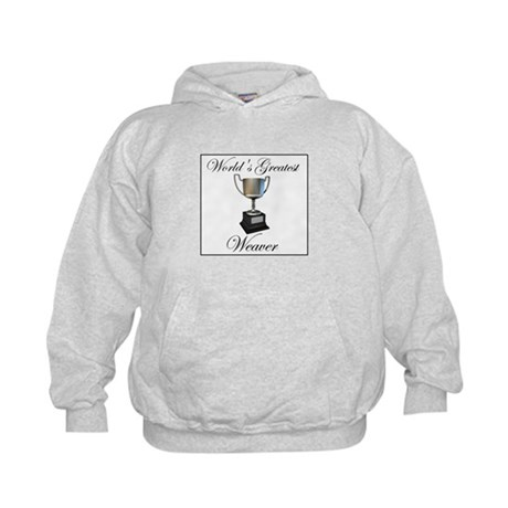 World's Greatest Weaver Kids Hoodie