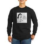 Yarn - Don't Have to Dust Long Sleeve Dark T-Shirt