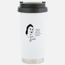 Yarn - Don't Have to Dust Travel Mug