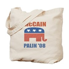 McCain Palin Republican Logo Tote Bag