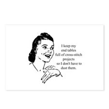 Cross-Stitch - Don't have to Postcards (Package of