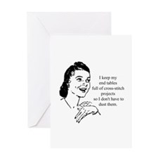Cross-Stitch - Don't have to Greeting Card