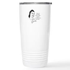 Crochet - Don't Dust Travel Mug