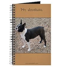 Boston Terrier Pup2 Journal