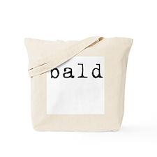 Bald (old typewriter) Tote Bag