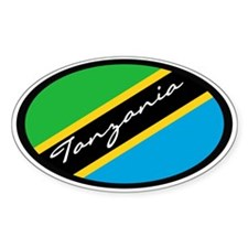 Tanzania Oval Decal