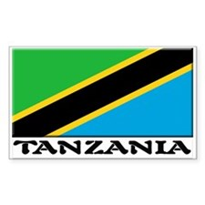 Tanzania Rectangle Decal