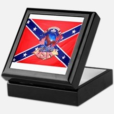 Rebel by birth Keepsake Box