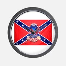 Rebel by birth Wall Clock