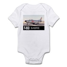 F-86 SABRE INTERCEPTOR Infant Bodysuit