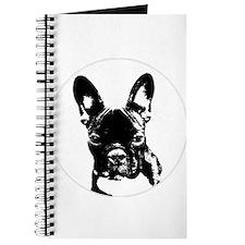 Cute French bulldog lover Journal