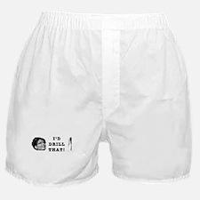 I'd Drill Palin Boxer Shorts
