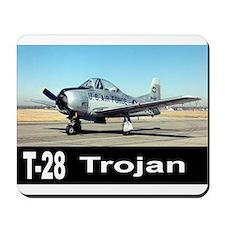 T-28 TROJAN AIRCRAFT Mousepad