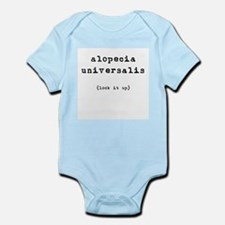 Alopecia Universalis (look it Infant Creeper