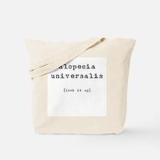 Alopecia Universalis (look it Tote Bag