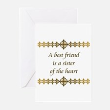 Sister of the Heart Greeting Cards (Pk of 10)