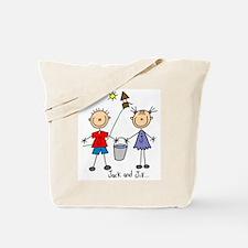 Jack and Jill Tote Bag