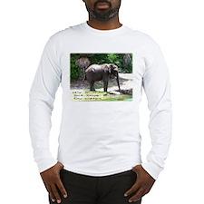 RUNS ON WATER Long Sleeve T-Shirt