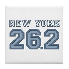 New York 26.2 Marathoner Tile Coaster