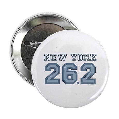 """New York 26.2 Marathoner 2.25"""" Button"""