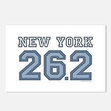 New York 26.2 Marathoner Postcards (Package of 8)