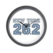 New York 26.2 Marathoner Wall Clock