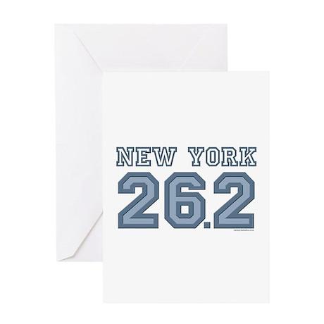 New York 26.2 Marathoner Greeting Card