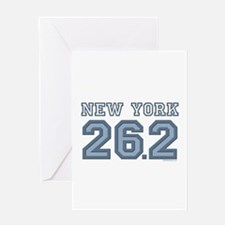 New York 26.2 Marathoner Greeting Card