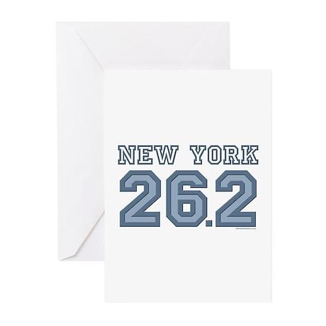 New York 26.2 Marathoner Greeting Cards (Pk of 10)