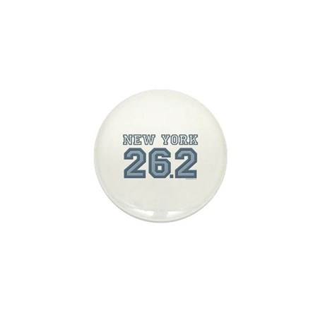 New York 26.2 Marathoner Mini Button