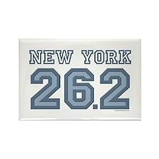 New York 26.2 Marathoner Rectangle Magnet