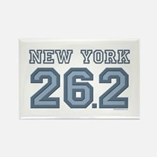 New York 26.2 Marathoner Rectangle Magnet