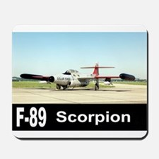 F-89 SCORPION FIGHTER Mousepad