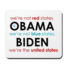 Blue States Red States Mousepad