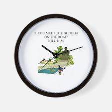 zen buddhist gifts & t-shirts Wall Clock