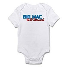 Big Mac and the Barracuda Infant Bodysuit