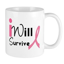 I Will Survive Breast Cancer Mug