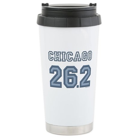 Chicago 26.2 Marathoner Stainless Steel Travel Mug