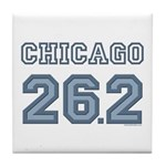Chicago 26.2 Marathoner Tile Coaster