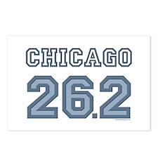 Chicago 26.2 Marathoner Postcards (Package of 8)