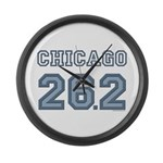 Chicago 26.2 Marathoner Large Wall Clock