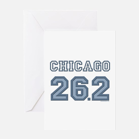 Chicago 26.2 Marathoner Greeting Card